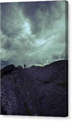Solitude Canvas Print by Art of Invi