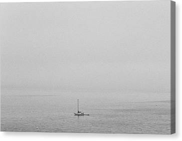 Canvas Print featuring the photograph Solitude by Lora Lee Chapman