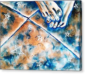 Solitude Canvas Print by Paulo Zerbato