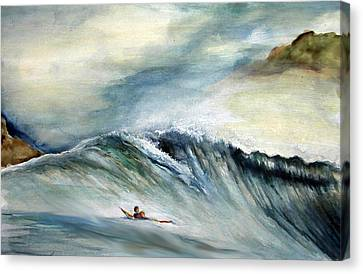 Solo Canvas Print by Robert  Nelson