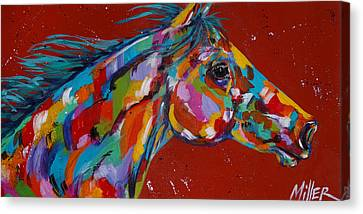 Solo Canvas Print by Tracy Miller