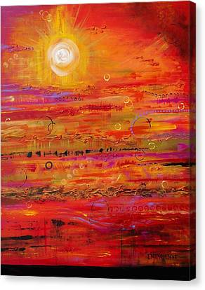 Solstice Canvas Print by Denise Peat