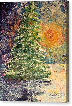 Canvas Print - Solstice Tree by Tina Sheppard