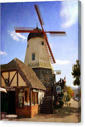 Solvang - Small Town America Canvas Print by Glenn McCarthy Art and Photography