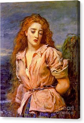 Solway Martyr 1871 Canvas Print