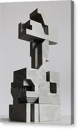 Soma Structure 2 Canvas Print by David Umemoto