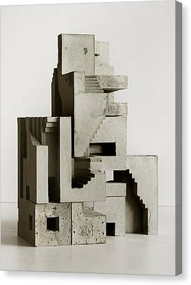 Soma Structure 3 Canvas Print by David Umemoto