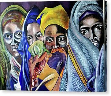 Somali Women Canvas Print by Miriam Kalb