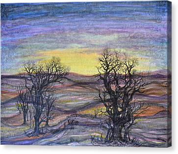Somber Landscape Canvas Print