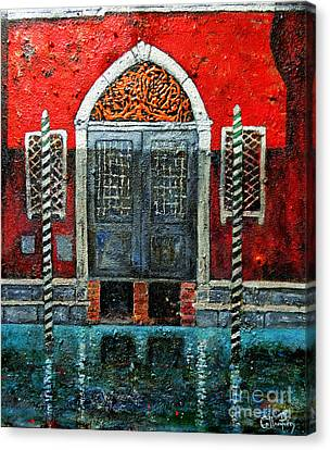 Sombra Di Cinque Ora Canvas Print by Callan Percy