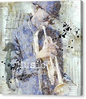 Some Music For The Soul Canvas Print