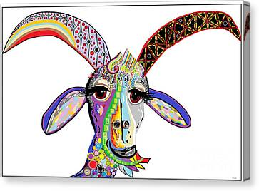 Somebody Got Your Goat? Canvas Print