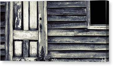 Abandoned Homes Canvas Print - Somebody's Home by Bonnie Bruno