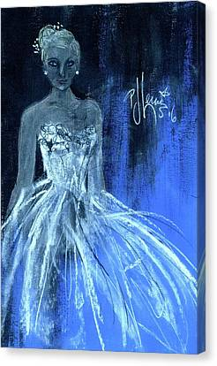 Something Blue Canvas Print by P J Lewis