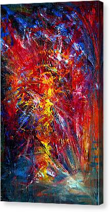 Something II Canvas Print by Wojtek Kowalski