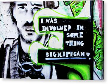 Canvas Print featuring the photograph Something Significant by Art Block Collections