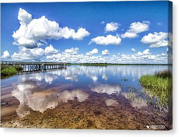 Something To Reflect On Canvas Print by Phil Mancuso