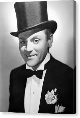 Something To Sing About, James Cagney Canvas Print by Everett