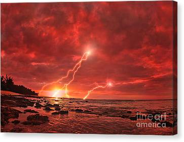 Something Wicked Canvas Print by Paul Topp