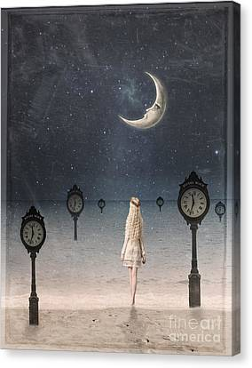 Somewhere In Time Canvas Print by Juli Scalzi