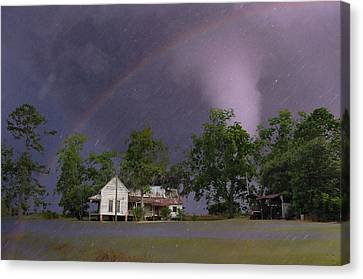 Somewhere Over The Rainbow Canvas Print by Jan Amiss Photography