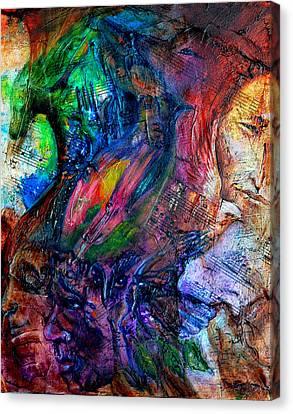 Song Of Dreams Canvas Print by Sofanya White