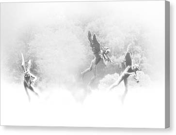 Song Of The Angels Canvas Print by Bill Cannon
