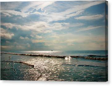 Sea Scape Canvas Print - Song Of The Sea by Amy Tyler