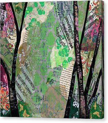 Sheets Canvas Print - Song Of The Trees II by Shadia Derbyshire