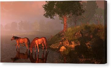 Songs Of Kentucky Canvas Print by Dieter Carlton