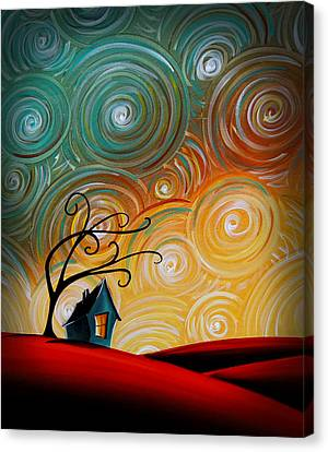 Songs Of The Night Canvas Print by Cindy Thornton