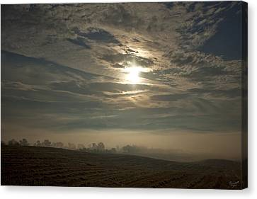 Licht Canvas Print - Sonnenaufgang  Bei Rudno by Renata Vogl