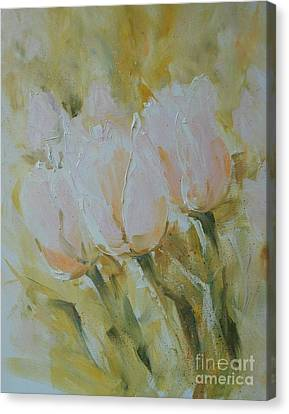 Sonnet To Tulips Canvas Print