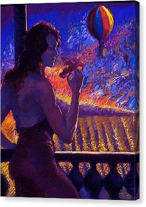 Sonoma Sunrise Canvas Print by Ellen Dreibelbis