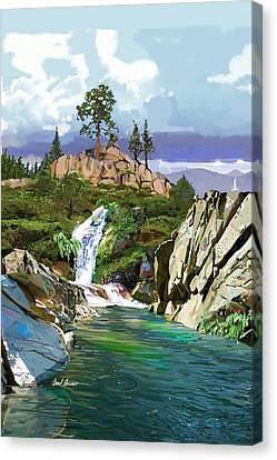 Sonora Pass Canvas Print