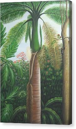 Sonrisa Canvas Print by Toyo Perez