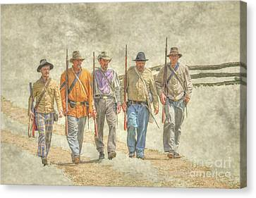 Sons Of The South  Canvas Print