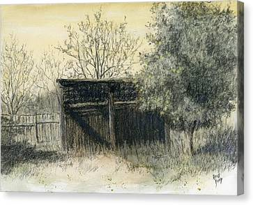 Apple Tree Canvas Print - Soon Forgotten by David King