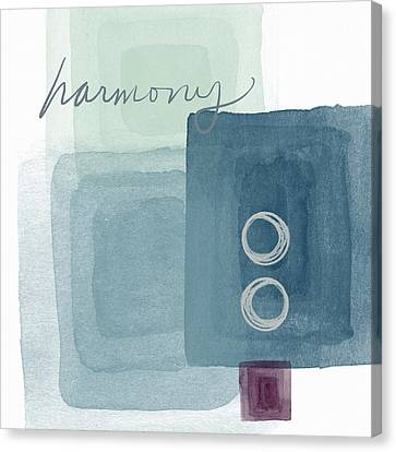 Soothing Harmony- Art By Linda Woods Canvas Print