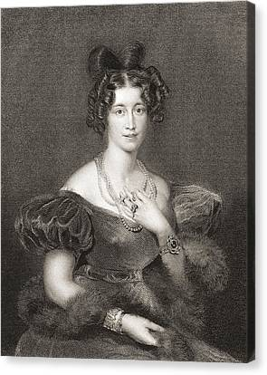 Sophia Sidney, Baroness De L Isle Canvas Print