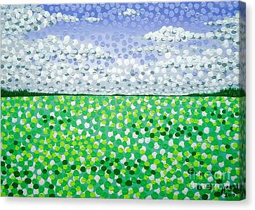 Sophia's Landscape Canvas Print by Alan Hogan