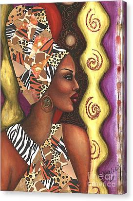 Sophisticated Safari Canvas Print by Alga Washington