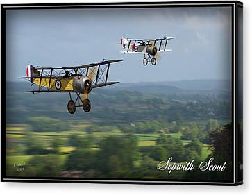 Sopwith Scout 2 Canvas Print