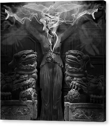 Sorceress Canvas Print by Larry Butterworth