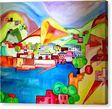 Sorrento Canvas Print by Patricia Arroyo