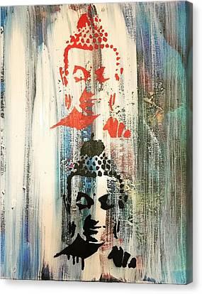 Surround U Canvas Print