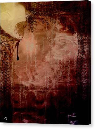 Sorrow Canvas Print by Linda Sannuti