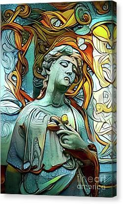 Sorrowful Angel 1 Canvas Print