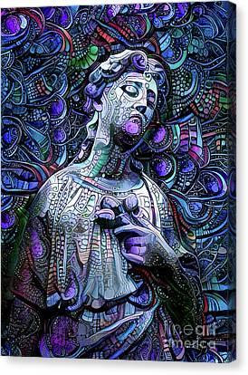 Sorrowful Angel 2 Canvas Print