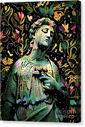 Sorrowful Angel 6 Canvas Print
